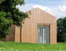 Stiftung zur Förderung zeitgenössischer Kunst in Weidingen (AXT Architekten, Foto: Dirk Axt, Trier)