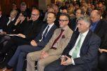 Baukulturpreis Eifel 2017 Preisverleihung_1.Reihe v.r.  A.Theis VB Eifel eG, Landrat Dr.Streit, Dr.Weinberg, G.Reker, AKRP