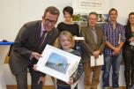Preisverleihung Fotowettbewerb-Siegerin Schülerinnenpreis