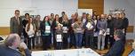 Preisverleihung Fotowettbewerb-prämierte TeilnehmerInnen