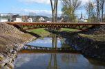 Holzbrücke in Schönecken - Teilansicht 2