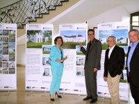 Ausstellung Baukulturpreis 2013 bei der ADD im Kurfürstlichen Palais in Trier