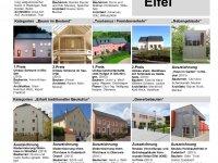 Ausstellung Baukulturpreis Eifel 2015 vom 06.06.2016 bis 15.08.2016 in der Kreisverwaltung Bitburg-Prüm in Bitburg